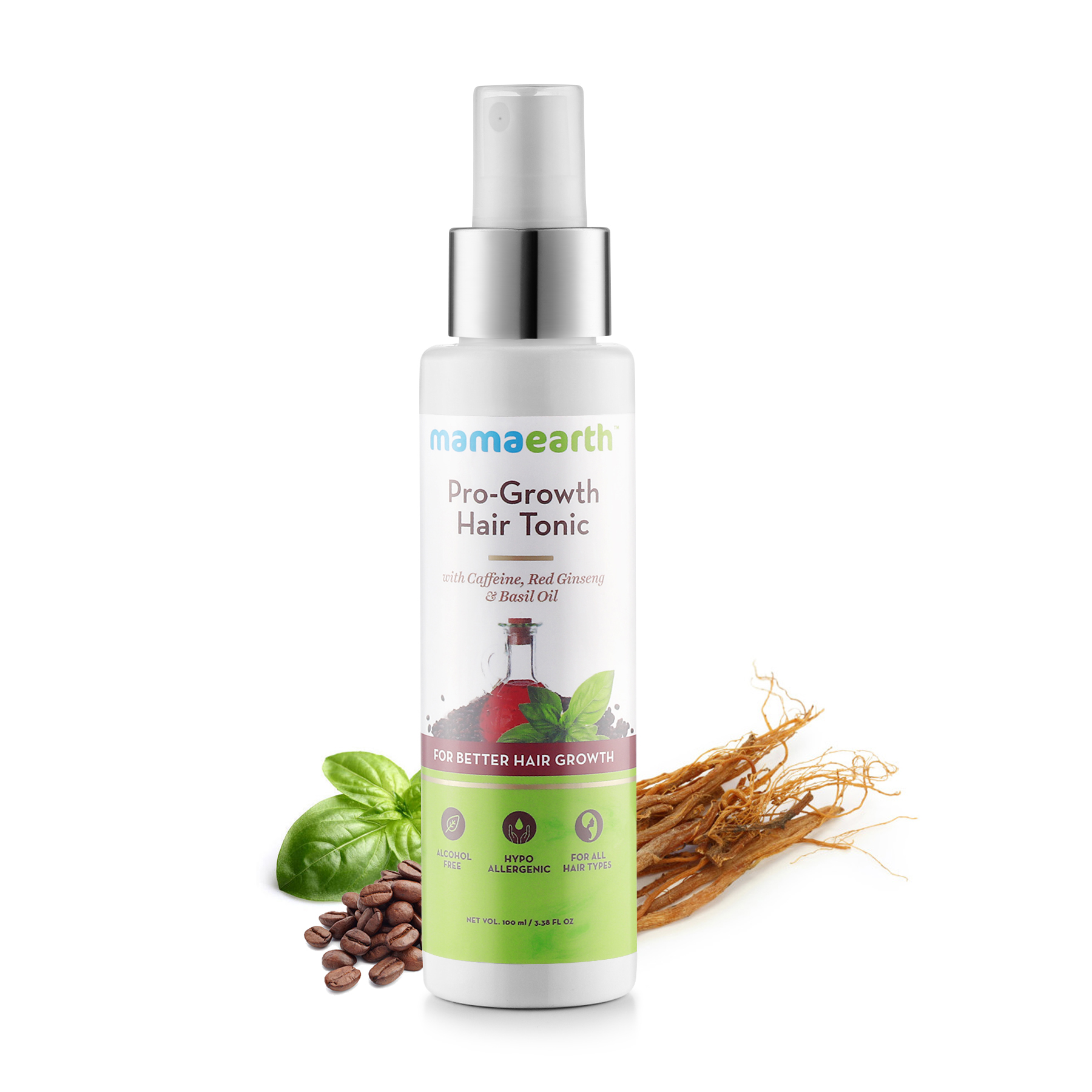 Mamaearth Pro Growth Hair Tonic For Better Hair Growth 100 Ml
