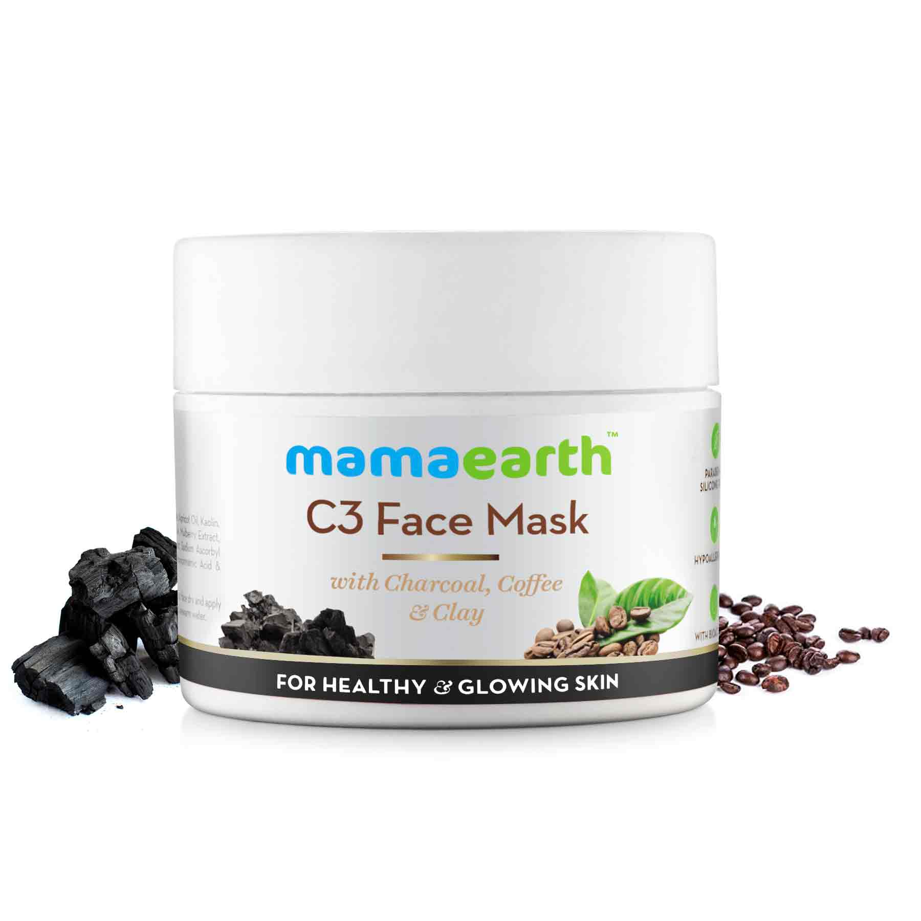 C3 Face Mask For Glowing Skin Organic Products Mamaearth