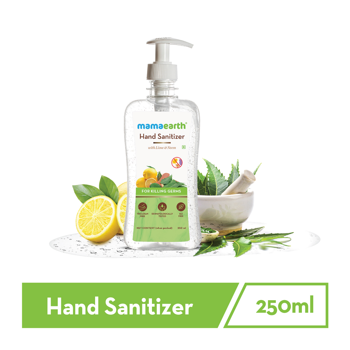hand sanitizer with alcohol for Kills Virus & Bacteria