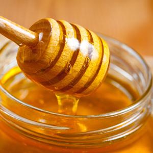 honey hand cream with honey