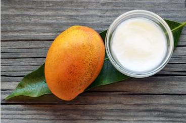 natural body lotion with mango butter